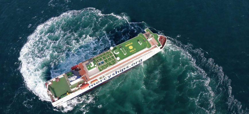 Global Mercy - Image credit Tianjin Xingang Shipyard.
