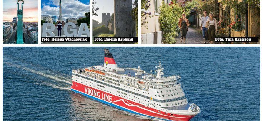 M/S Gabriella ska genomföra kryssningar till Visby och Riga sommaren 2021.