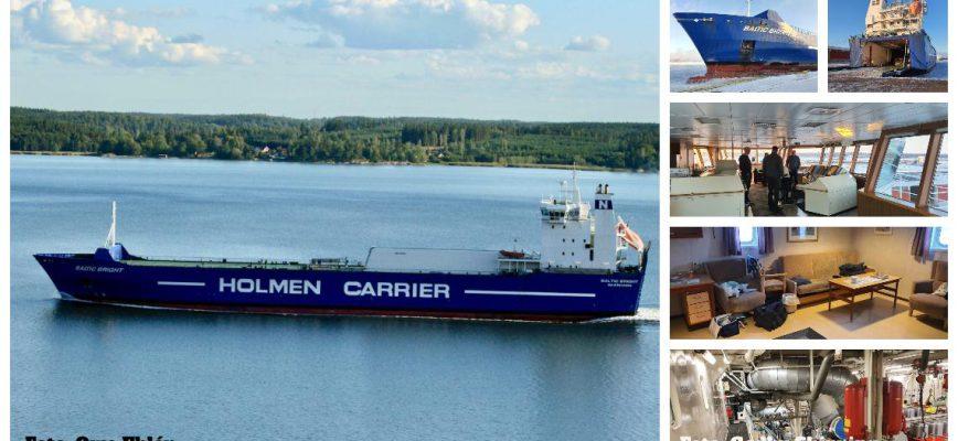 Godby Shipping köper M/S Baltic Bright.